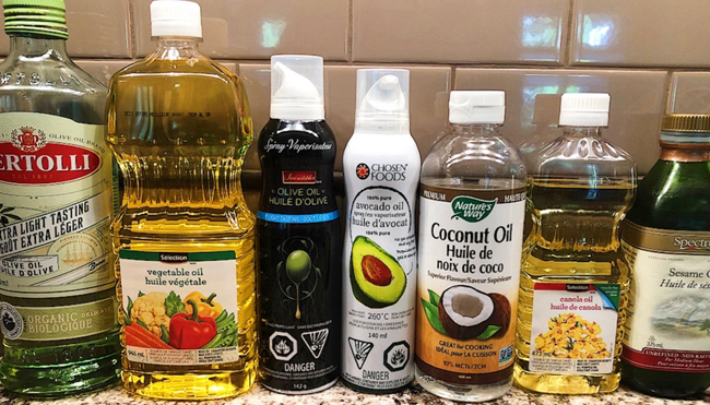 Types of Oil that are Not Good for Cooking